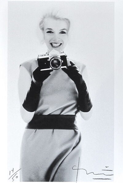 Bert Stern, 'Marilyn with Nikon', 1962