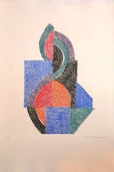 Sonia Delaunay, 'Untitled - Six Planches', 1966