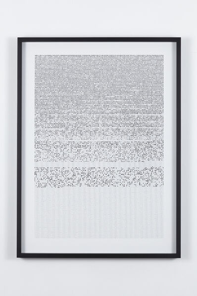 Norimichi Hirakawa, 'Ultra-deep code', 2015