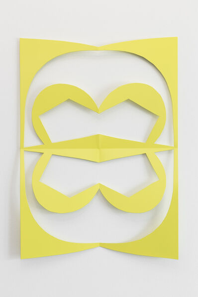 Matt Keegan, 'Lisbon Cutout (Sulfur Yellow)', 2016