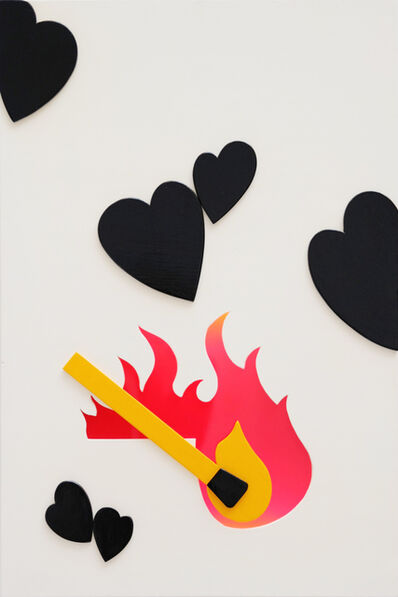 Claude Gilli, 'L'amour vache', 2010