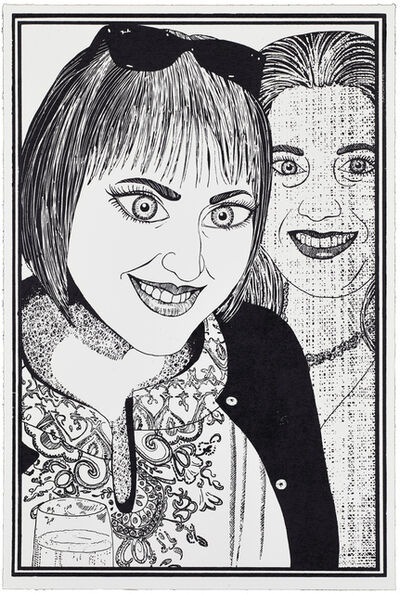 Grayson Perry, '04, Six Snapshots of Julie (Black and White)', 2015