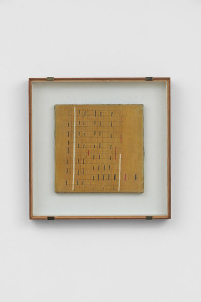 Bice Lazzari, 'Le due verticali n.2 [The two verticals n.2] or Ritmo n.9 [Rhythm n.9]', 1967