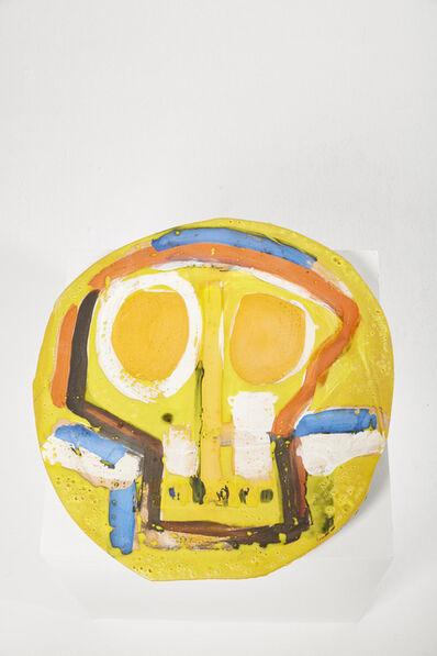 Roger Herman, 'Untitled 27 (Yellow, Orange, Blue)', 2018