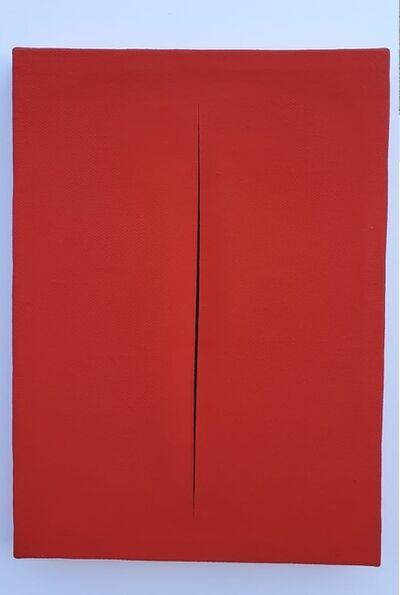 Lucio Fontana, 'Concetto spaziale Attese', 1964