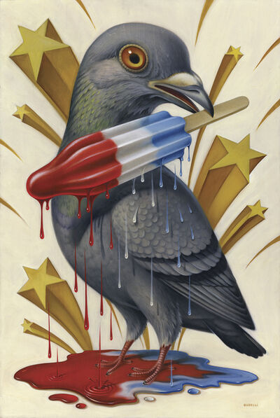 Chris Buzelli, 'Pigeon Pop', 2017