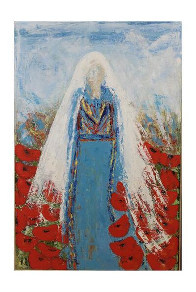 Raida Shahin, 'And the Poppies remain 1', 2017