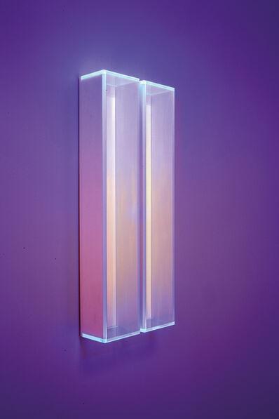 Regine Schumann, 'Colormirror rainbow glow after blu green milan', 2019