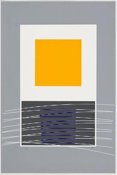 Jesús Rafael Soto, 'Orange et virtuel bleu', 1992/1999