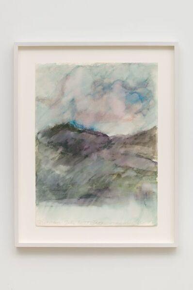 Luchita Hurtado, 'Mist & Rain - July, '75 Taos', 1971