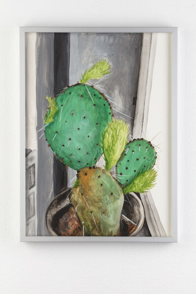Juliette Blightman, 'Loved an image (5th May) - Cactus'