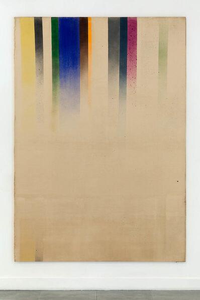 John Latham, 'Roller Blind Painting', 1965