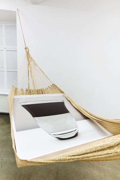 "Alessandro Balteo-Yazbeck, 'in collaboration with unknown Warao artisan  and Holger Niehaus. ""Warao Chinchorro / Hammock, (water-oil)"", 2004−2014. From the series ""Modern Entanglements""', 2004-2014"