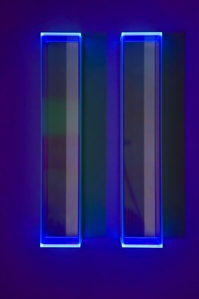 Regine Schumann, 'Colormirror rainbow glow after blu milan', 2019