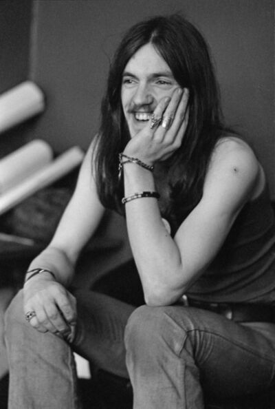 Michael Putland, 'Lemmy', 1973
