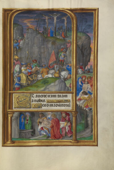 Master of James IV of Scotland, 'The Crucifixion', 1510-1520