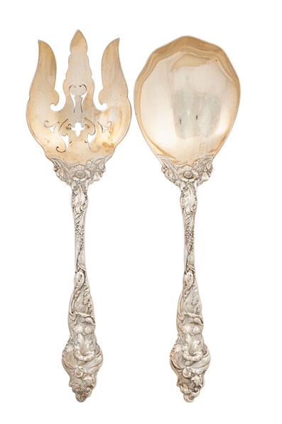 Reed & Barton, 'Reed & Barton Sterling Silver Salad Set', early 20th c.