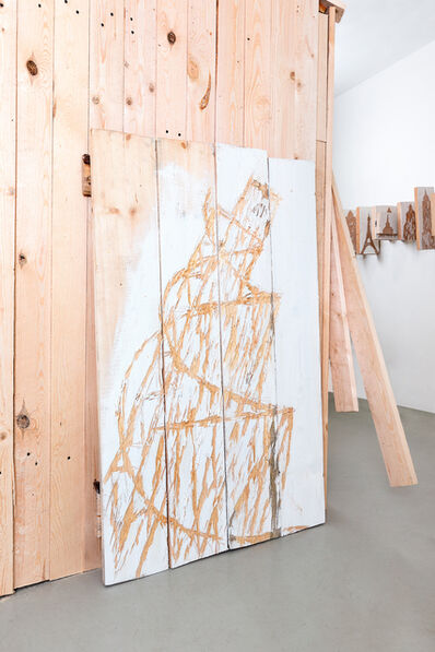 Nestor Engelke, 'WOODEN DESIGN: TOWER 2', 2019