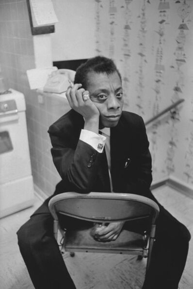 Art Shay, 'James Baldwin, Chicago', 1961
