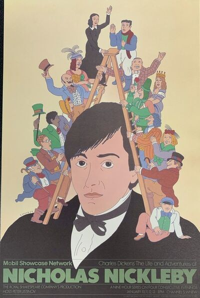 Seymour Chwast, 'Nicholas Nickleby', 1987