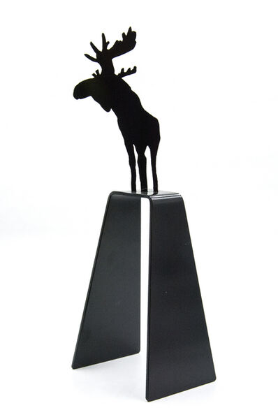 Charles Pachter, 'Mooseconstrue', 2015
