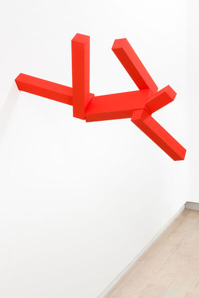 Joel Shapiro, 'Untitled (#6, Orange)', 2008