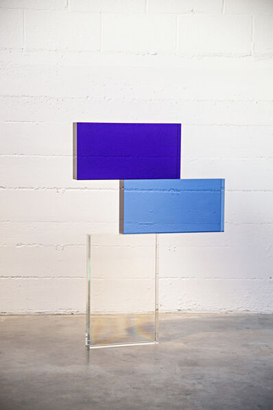 John Kiley, 'BLUE AND CLEAR STACK', 2019