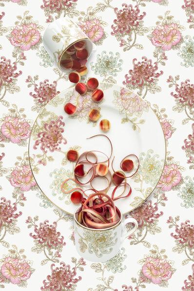 JP Terlizzi, 'Marchesa Camellia with Rhubarb', 2020