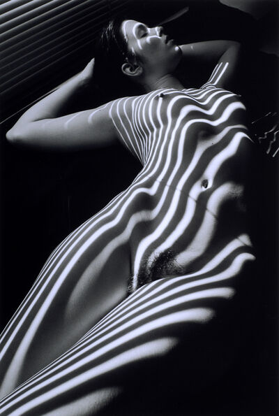 Lucien Clergue, 'Nu Zebre, New York 1998', 2005