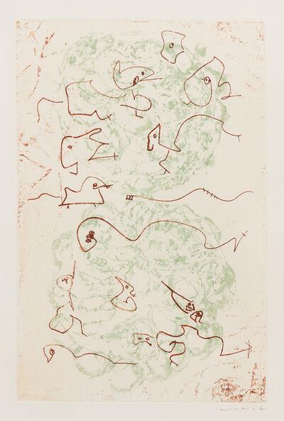 Max Ernst, 'Les Chiens ont soif', 1964