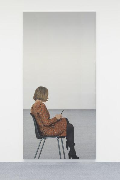 Michelangelo Pistoletto, 'Smartphone - giovane donna 6 movimenti A', 2018
