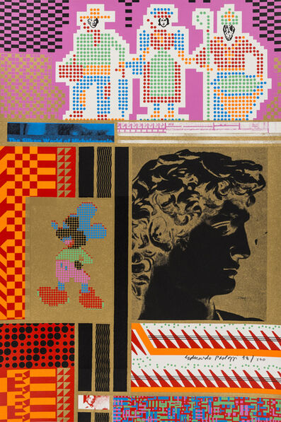 Eduardo Paolozzi, 'The Silken World of Michelangelo', 1967