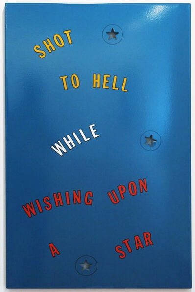 Lawrence Weiner, 'Shot to Hell', 1996