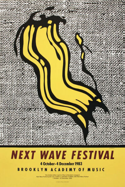 Roy Lichtenstein, 'Next Wave Festival', 1983/2002