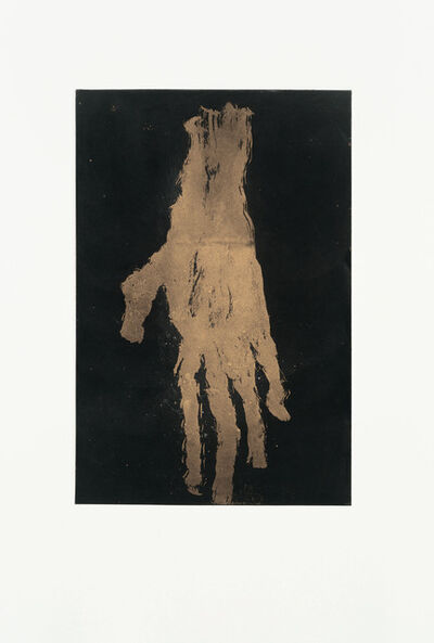 Georg Baselitz, 'Mano VI (Gold)', 2019