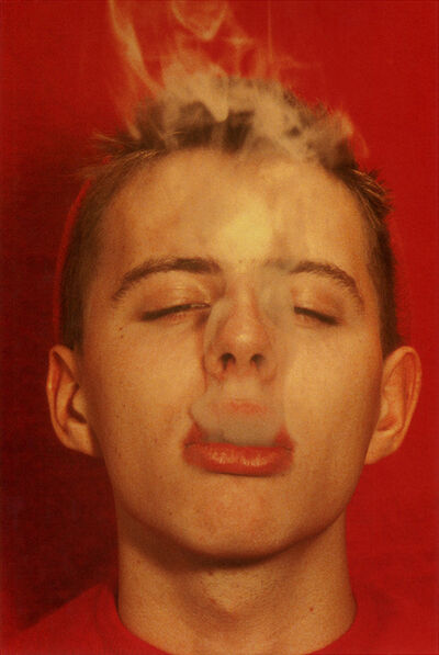 Walter Pfeiffer, 'Untitled (Smoke Boy)', 2001