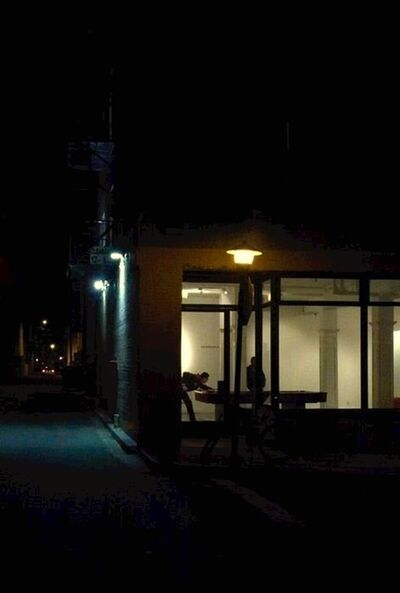 Maureen Haldeman, 'Dudley and Speedway, after Edward Hopper', 2014
