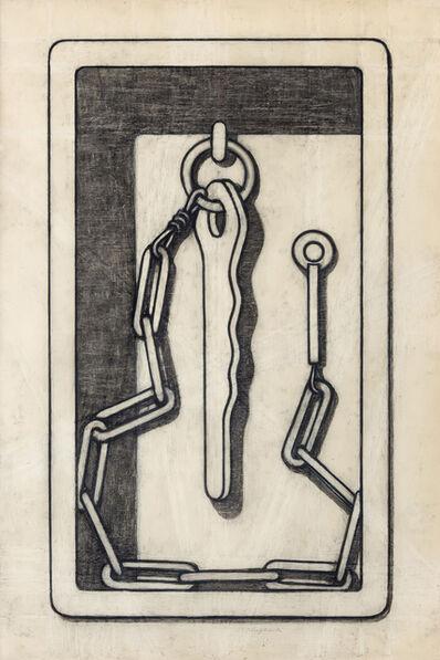 """Konrad Klapheck, 'Drawing for """"L'Apôtre entravé""""', 1992"""