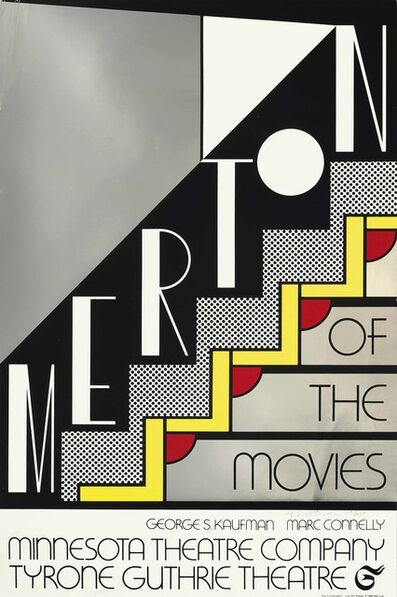 Roy Lichtenstein, 'Merton of the Movies', 1968