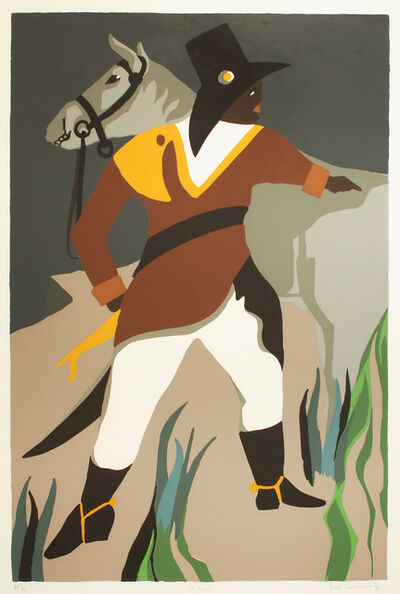 "Jacob Lawrence, 'ST. MARC from ""The Life of Toussaint L'Ouverture""', 1994"