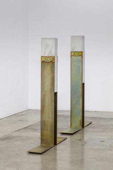 Toni Schmale, 'stehende figur t / w', 2019