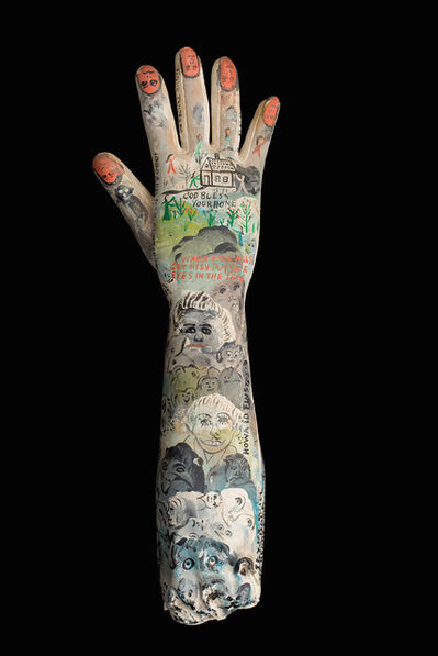 Howard Finster, 'In The Palm of His Hand', n.d.