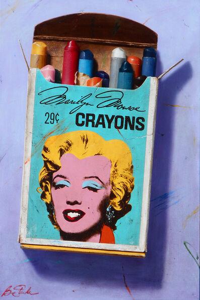 Ben Steele, 'Marilyn Monroe Crayons', 2017