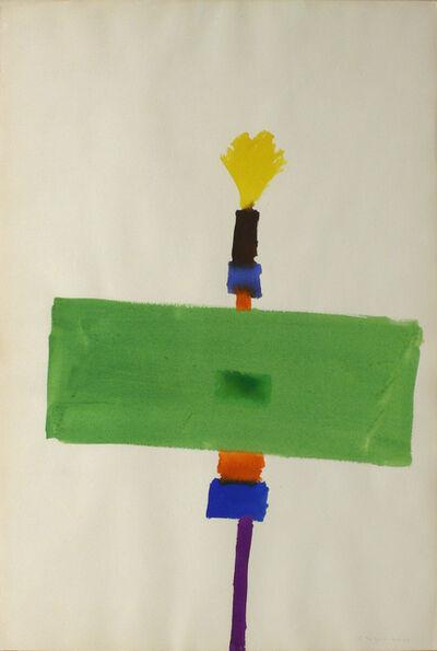 Kenneth Lochhead, 'Green Hero', 1963
