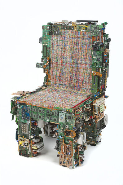 Benjamin Rollins Caldwell, 'Binary Chair 02', 2011