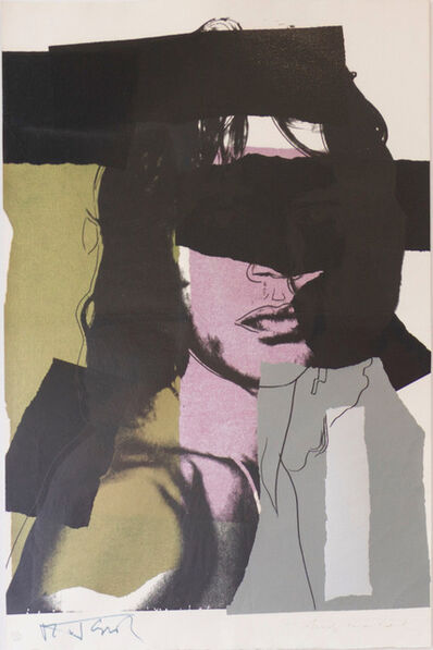Andy Warhol, 'Mick Jagger (FS II.145)', 1975