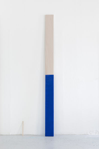 Christoffer Munch Andersen, 'Paint Stir Stick (Blue)', 2018