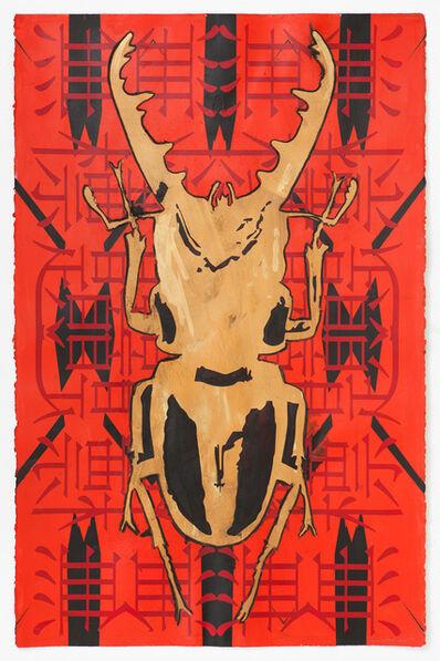 Kendell Geers, 'Wittgensteins Beetle 6324', 2018