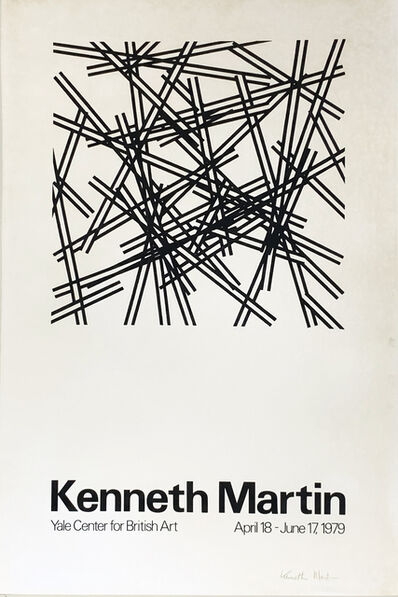 Kenneth Martin, 'Yale Center For British Art', 1979