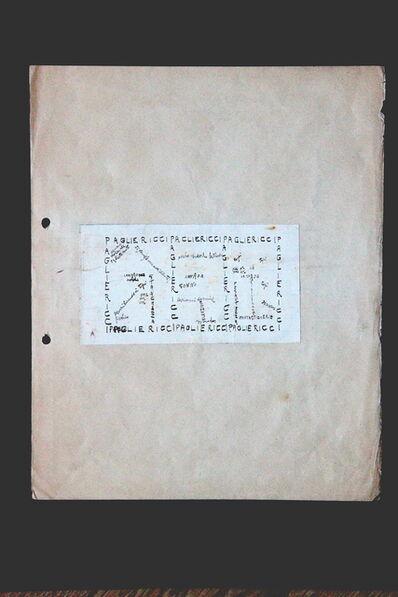 Angelo Rognoni, 'Pagliericci (Paillasses)', 1916